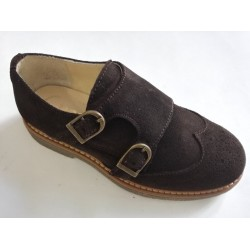 BLUCHER RUTH SHOES ANTE CON DOBLE HEBILLA