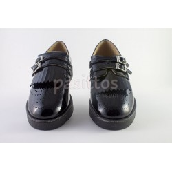 BLUCHER RUTH SHOES CHAROL SUELA GRUESA DOBLE HEBIL