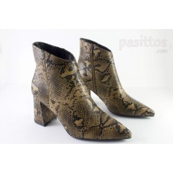 BOTAS FRANCESCO MILANO SERPIENTE