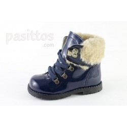 BOTAS RUTH SECRET CHAROL CON CORDON Y BORREGUILLO
